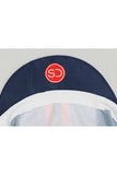 Sundried Duo Stripe Cycle Cap Cycle Cap Navy SD0436 Navy Activewear