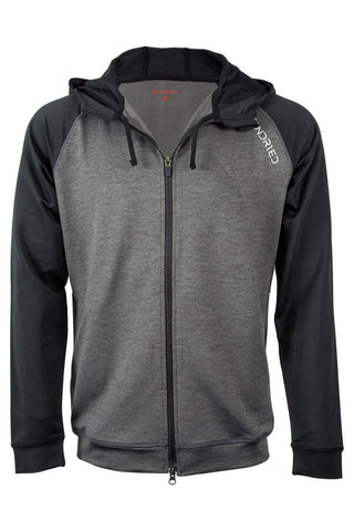 Sundried Men's Sport Hoodie Hoodie XS Grey SD0243 XS Grey Activewear