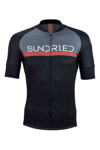 Sundried Peloton Men's Short Sleeve Training Jersey Short Sleeve Jersey Activewear