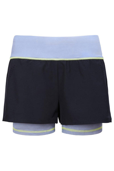 Sundried Les Rouies 2-in-1 Women's Shorts Shorts Activewear