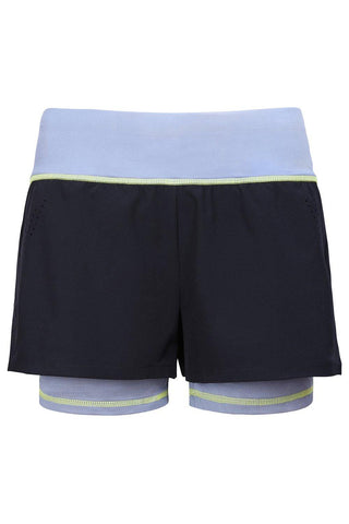Sundried Les Rouies 2-in-1 Women's Shorts Shorts Activewear Gym Shorts