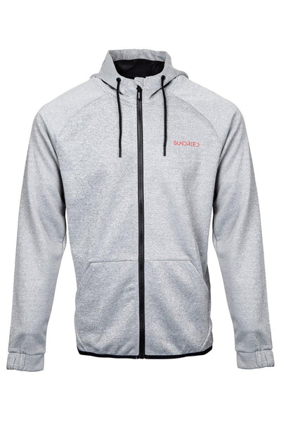 Sundried Pursuit Men's Hoodie Hoodie XL Grey SD0142 XL Grey Activewear