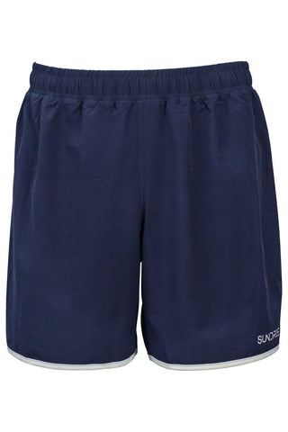"Sundried Legacy Men's 5"" Running Shorts Shorts S Navy SD0241 S Navy Activewear Gym Shorts"
