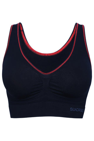 Sundried Bristen Women's Sports Bra Bra Activewear Womens Gym Wear