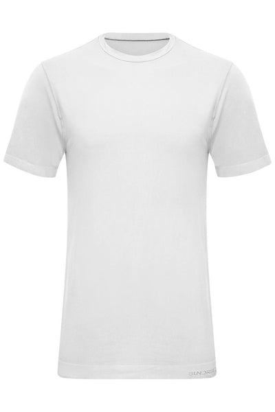 Sundried Eco Tech Men's Fitness Top T-Shirt XXL White SD0136 XXL White Activewear