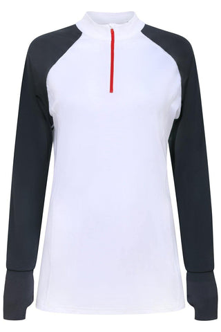 Sundried Escape Women's Half Zip Top Default M White Sundried Active Sports Apparel