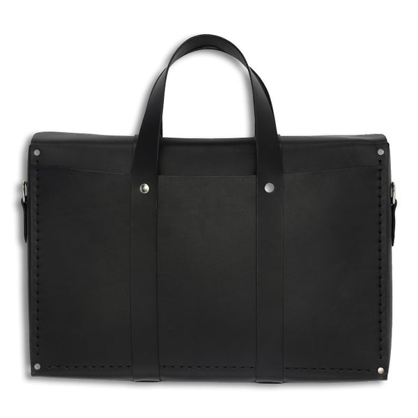 City Bag,  Mens Bags, leather goods, handmade, Copenhagen - Leatherprojects