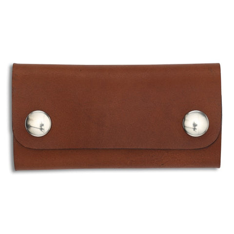 Key Wallet, Inglese,  Key Wallet, leather goods, handmade, Copenhagen - Leatherprojects