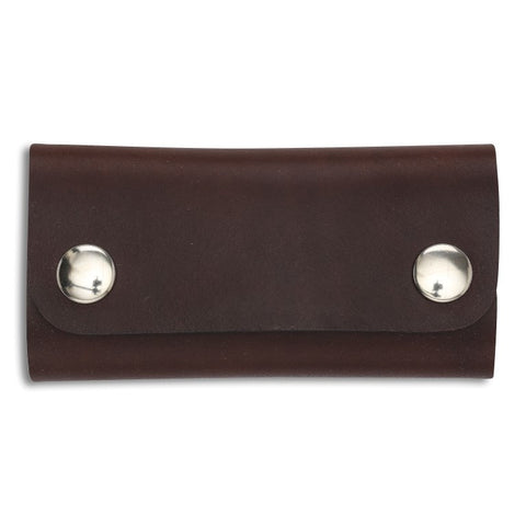 Key Wallet, Brown,  Key Wallet, leather goods, handmade, Copenhagen - Leatherprojects