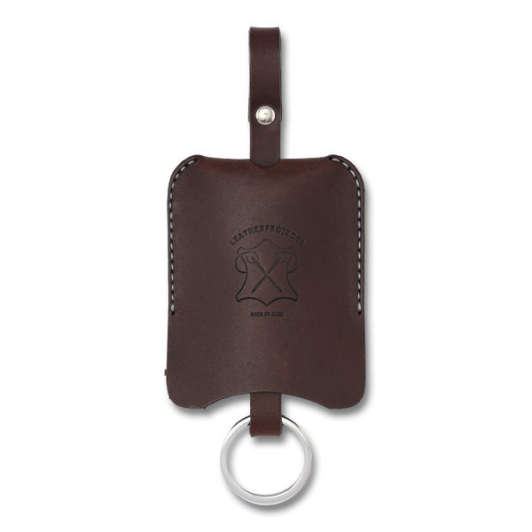 Key Cover, Brown,  Key Cover, leather goods, handmade, Copenhagen - Leatherprojects