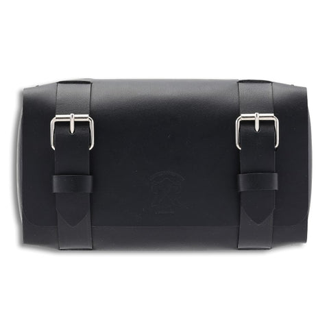 Dopp Kit, Black,  Dopp Kit, leather goods, handmade, Copenhagen - Leatherprojects
