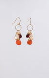 Jane Earrings in Citrine