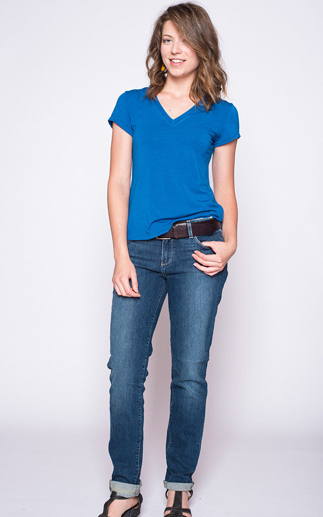 "Supersoft ""Vee Tee"" in Cobalt Blue"