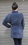 Chenille Cardigan with Belt