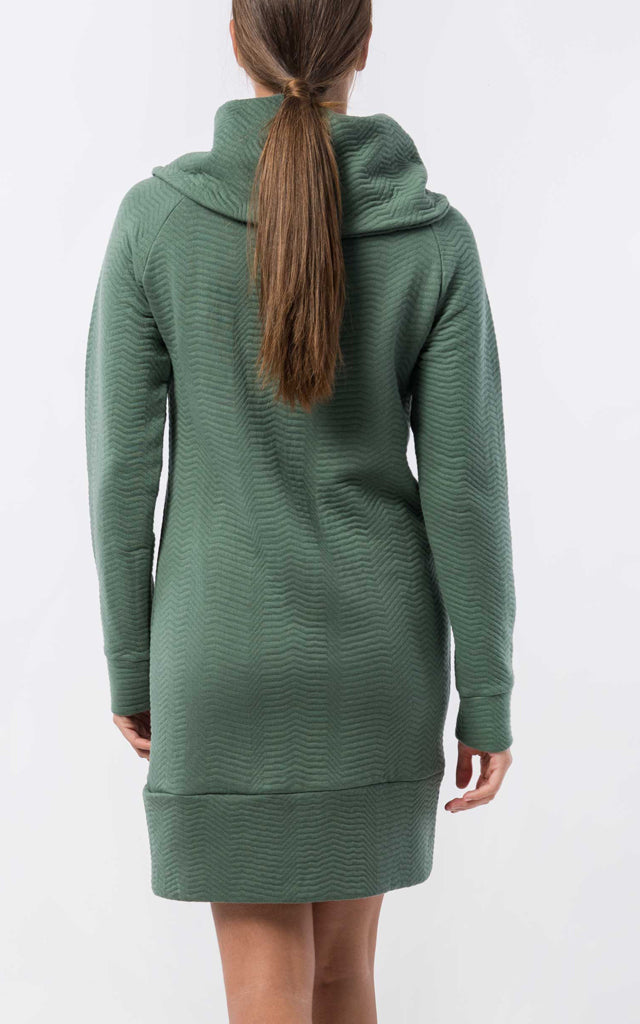 Organic Funnel Neck Dress