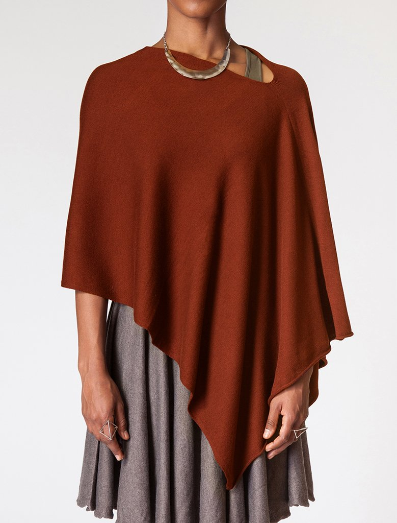 Eden Poncho in Seven Colors