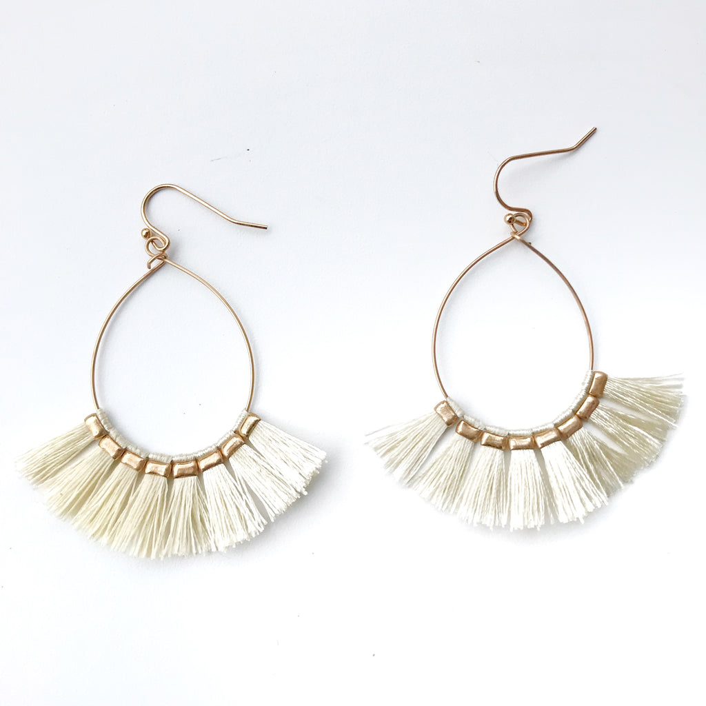 Lovely Tassel Earrings in 4 colors