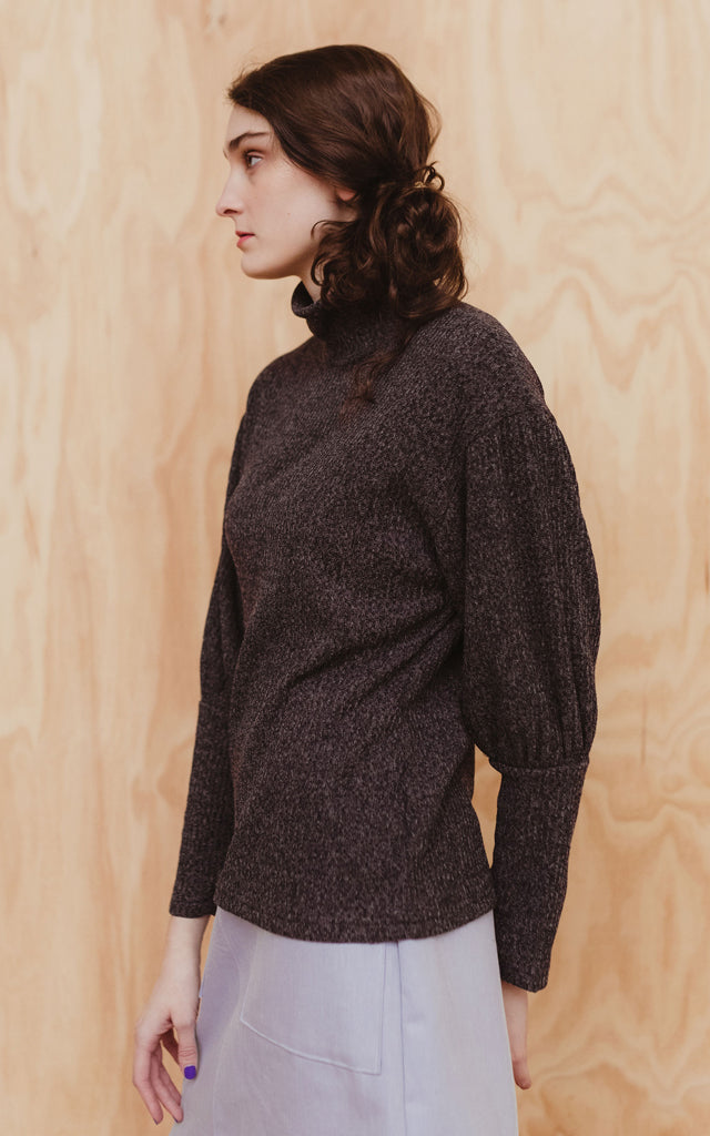 Rio Sweater in Charcoal Marl