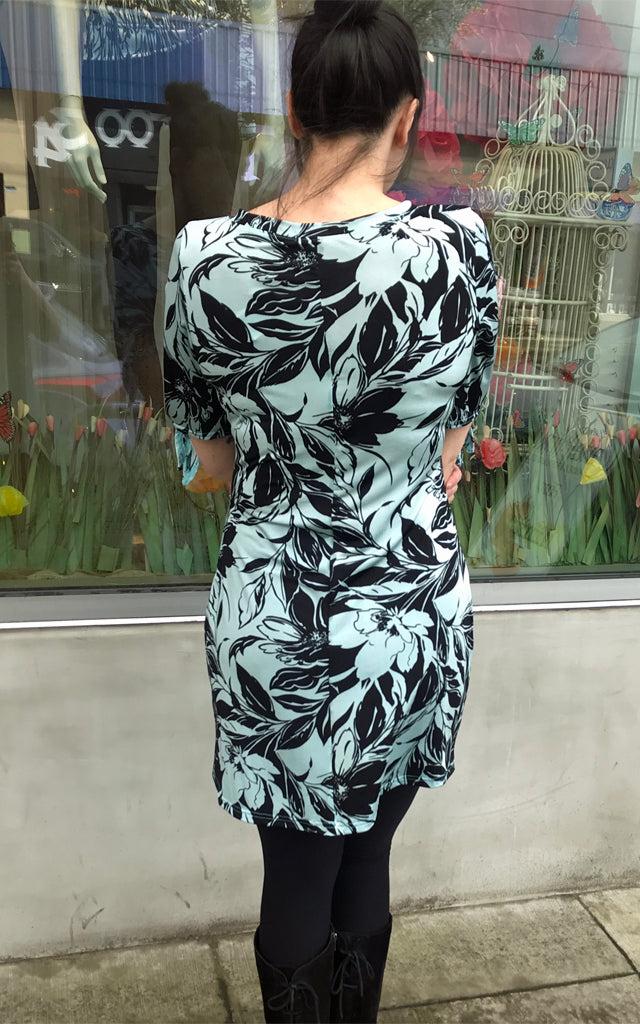 Space Dress in Fresh Floral