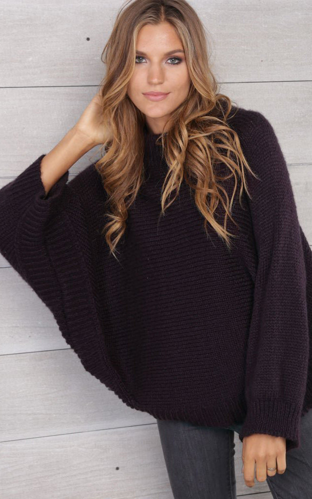 Allie Sweater Poncho