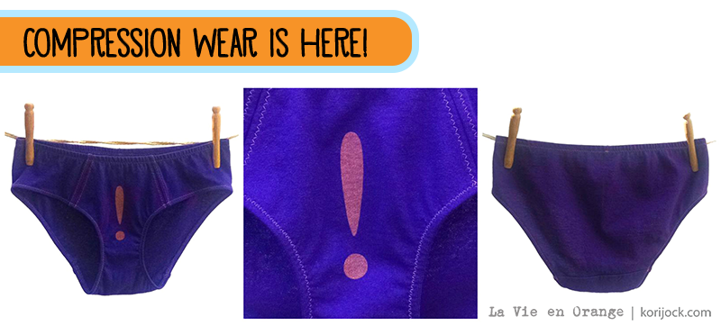Compression wear by La Vie en Orange | Enter the giveaway here.