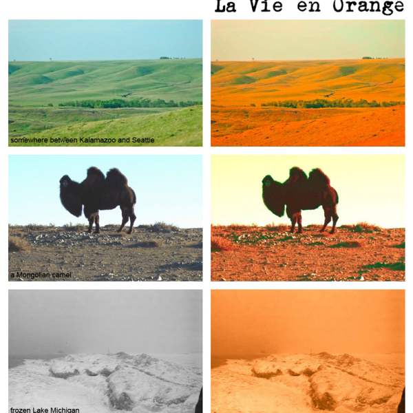 How are you living la vie en orange?