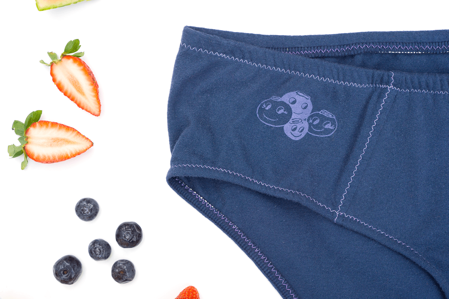 Blueberry Handmade Underwear | La Vie en Orange
