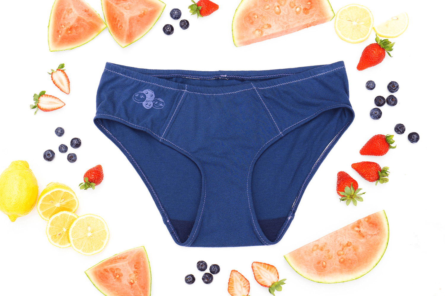 Blueberry Handmade Underwear by La Vie en Orange