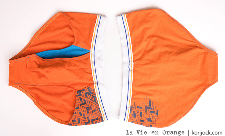 Tessellated Tiles men's briefs by La Vie en Orange | korijock.com