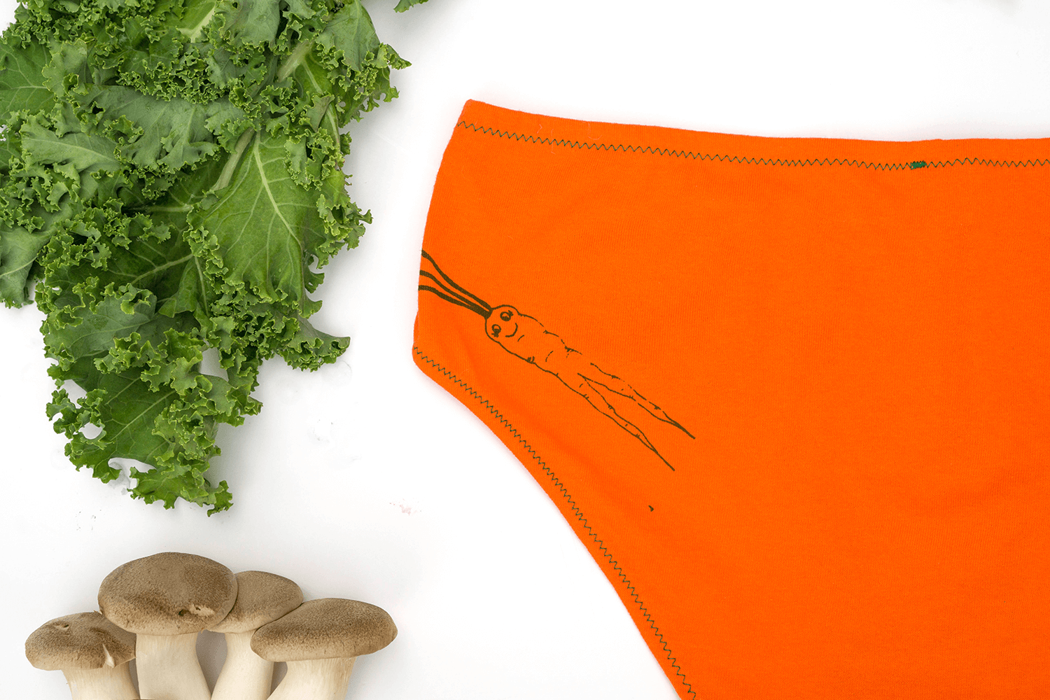 Carrot Mama Women's Handmade Underwear by La Vie en Orange