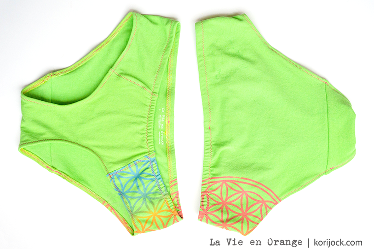 Flower of Life women's undies by La Vie en Orange
