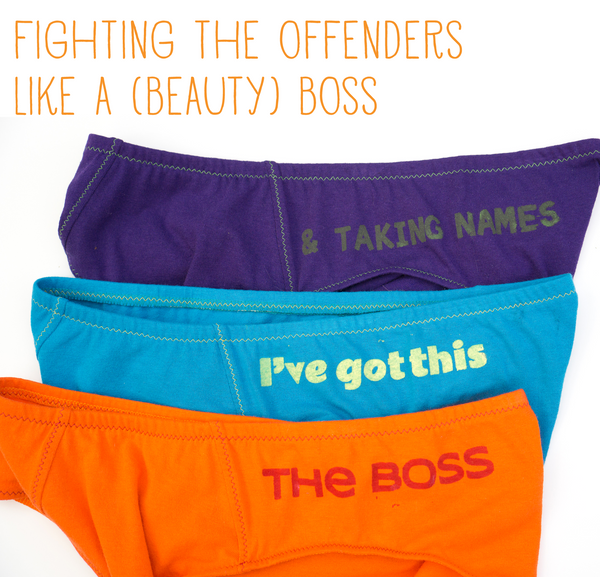 Fighting the Offenders Like a (Beauty) Boss