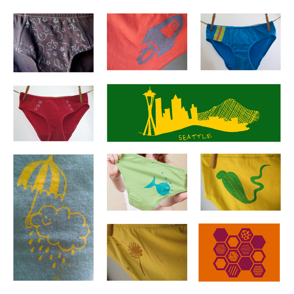 One year of delightful undies for La Vie en Orange's Underwear of the Month Club