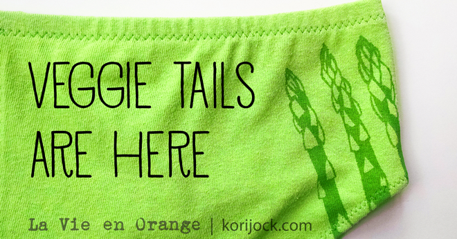 Veggie Tails are here! | La Vie en Orange
