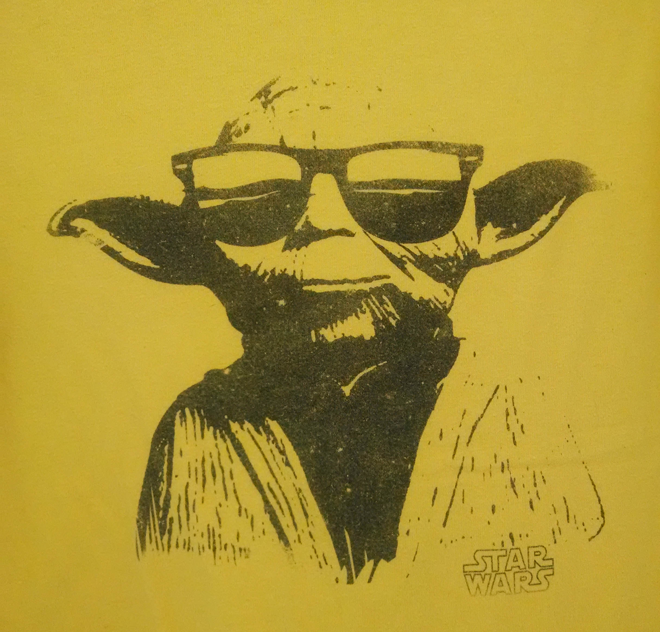 Yoda wants to be in your pants!