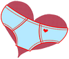 Red Heart Underwear
