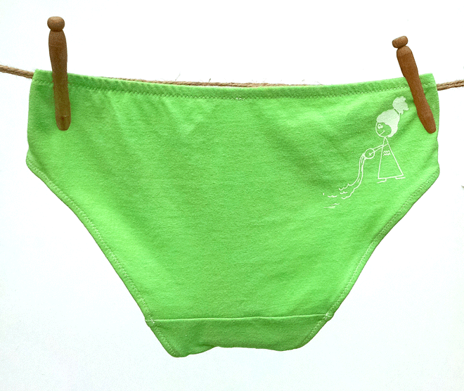 Aquarius Zodiac Handmade Undies | La Vie en Orange