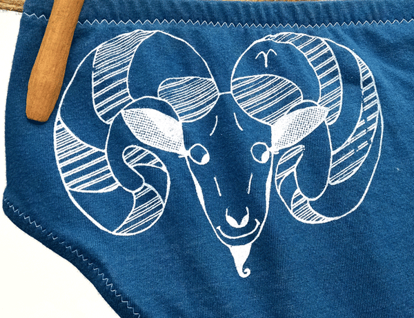 Aries Zodiac Handmade Undies | La Vie en Orange