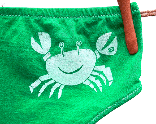 Cancer Zodiac Undies | La Vie en Orange