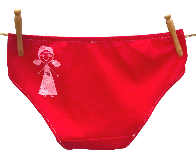 Virgo Zodiac Handmade Undies | La Vie en Orange