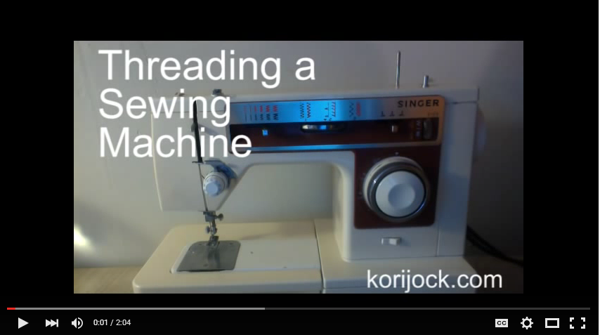 How to thread a sewing machine | La Vie en Orange