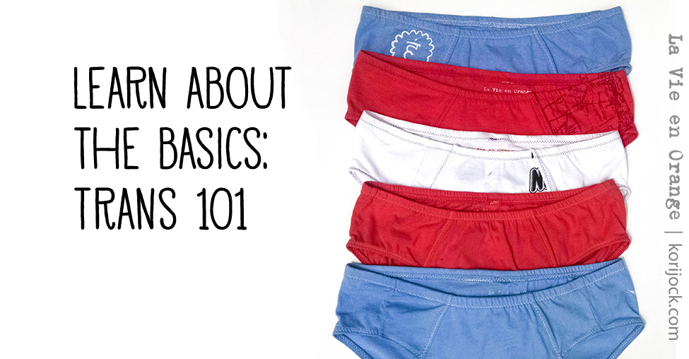 Learn about the basics: Trans 101 | La Vie en Orange