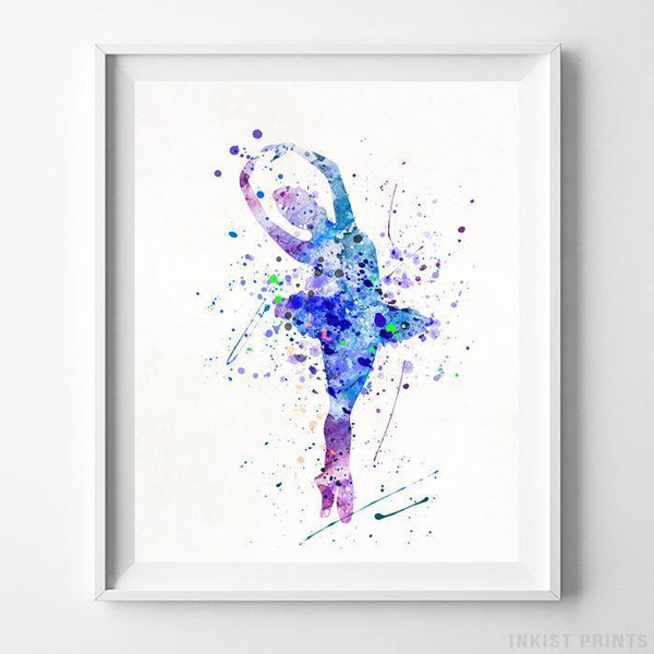 Ballerina Type 1 Print-Poster-Wall_Art-Home_Decor-Inkist_Prints