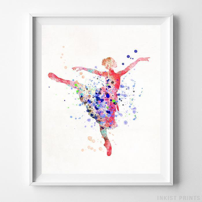Ballerina Type 2 Print-Poster-Wall_Art-Home_Decor-Inkist_Prints