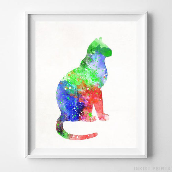 Cat Type 1 Print-Poster-Wall_Art-Home_Decor-Inkist_Prints