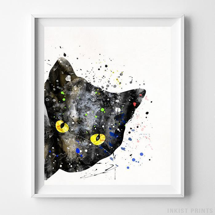Cat Type 2 Print-Poster-Wall_Art-Home_Decor-Inkist_Prints