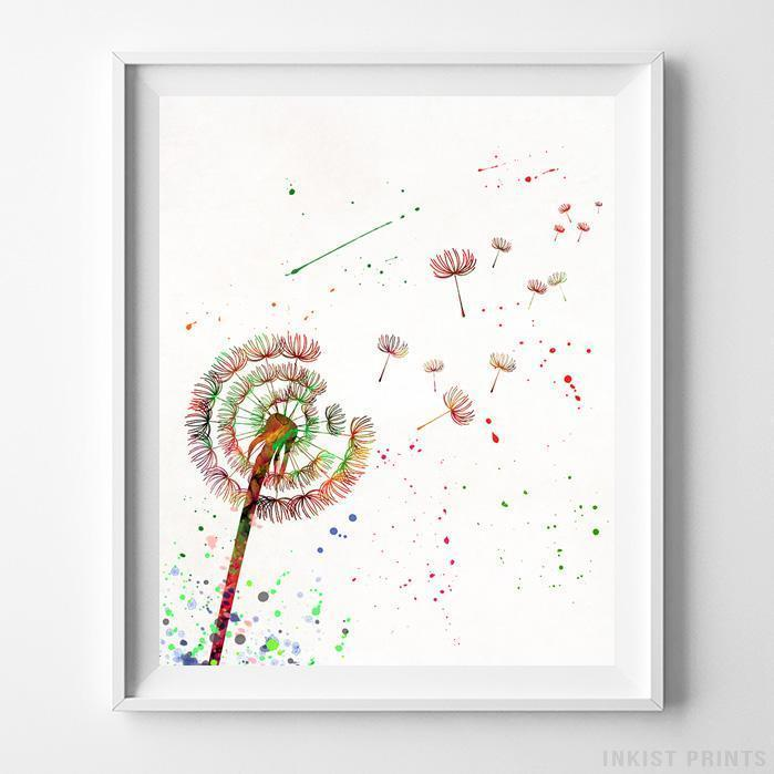 Dandelion Type 2 Print-Poster-Wall_Art-Home_Decor-Inkist_Prints