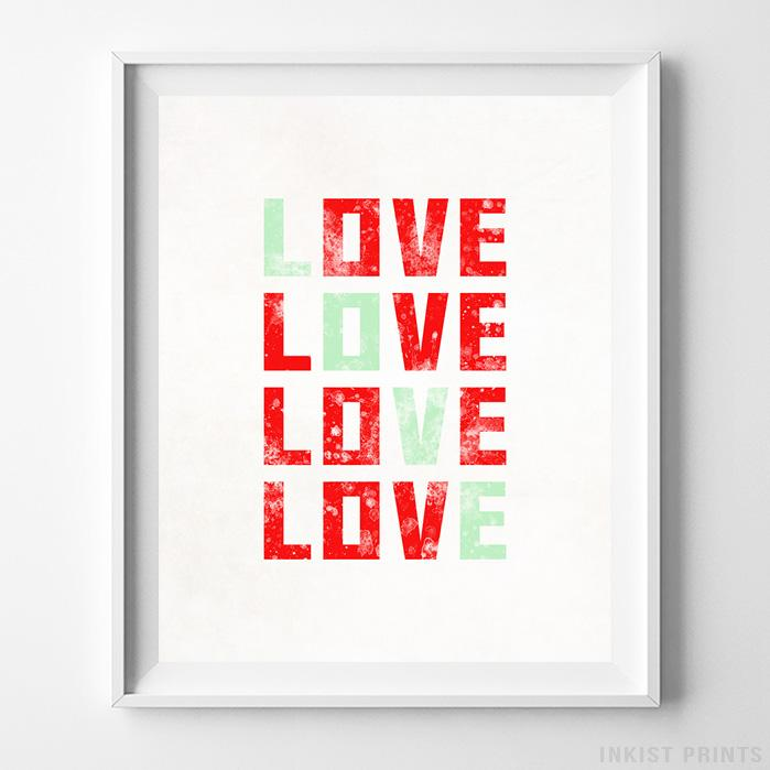 Love Typography Print-Poster-Wall_Art-Home_Decor-Inkist_Prints
