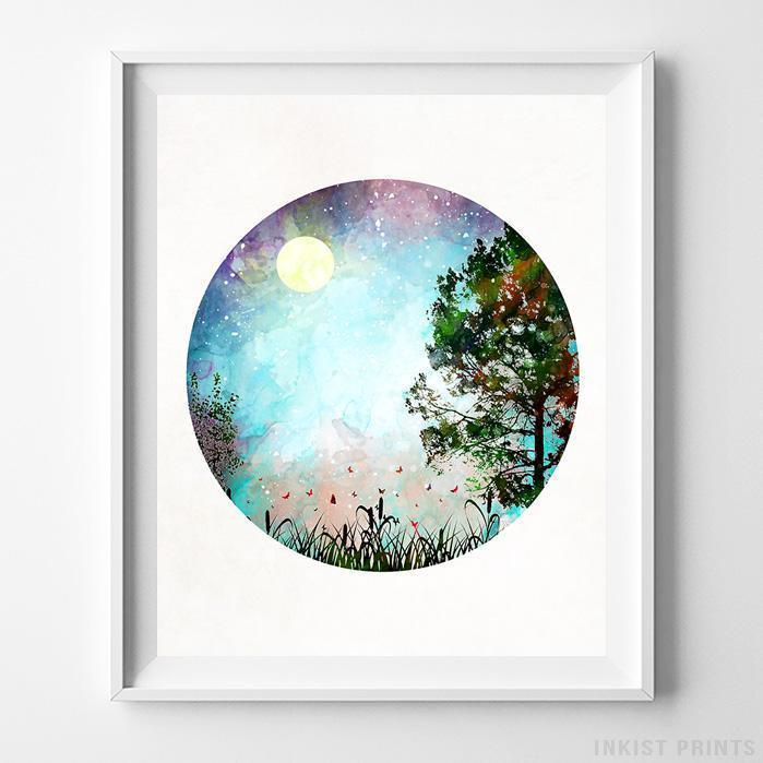 Nature Type 1 Print-Poster-Wall_Art-Home_Decor-Inkist_Prints