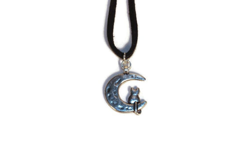 Cat & Moon Choker/Necklace